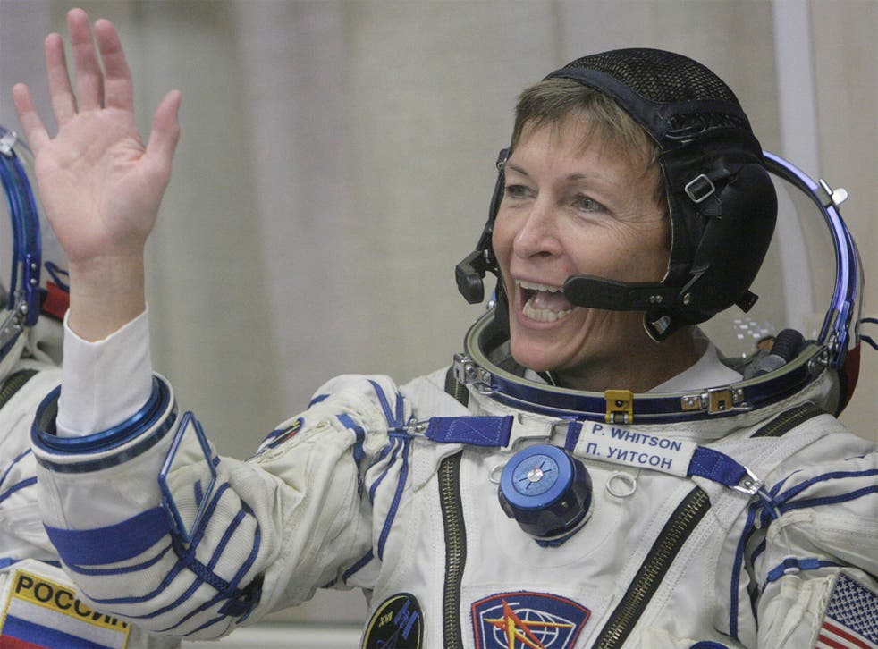 Peggy Whitson, who holds records for the most spacewalks carried out by a woman astronaut
