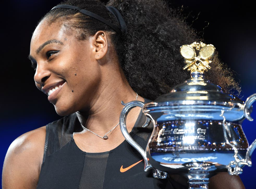 Serena Williams only found out about her pregnancy two days before the Australian Open