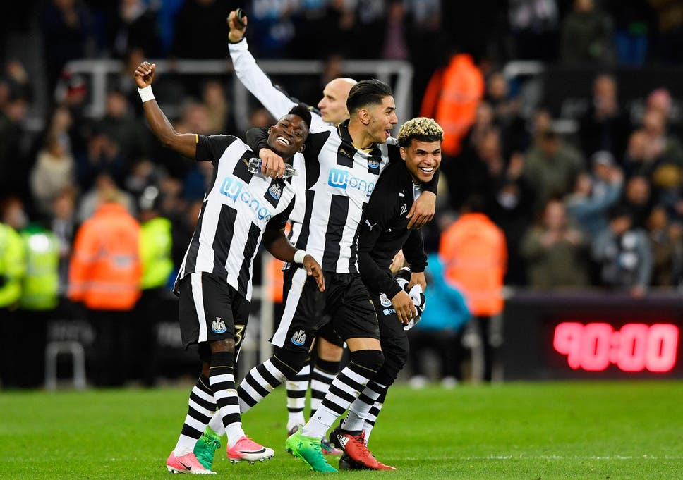 b2d5d769928 Dominant Newcastle fire four past Preston to secure Premier League  promotion in style