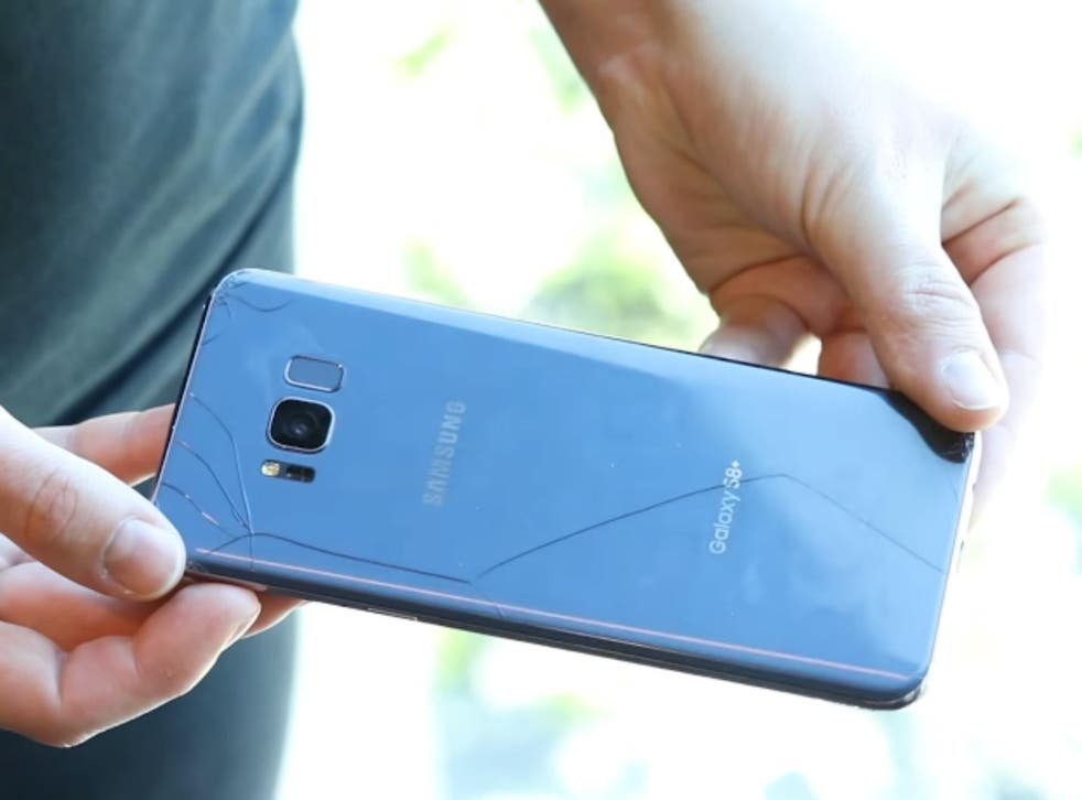 Many customers will be reluctant to hide the S8's stunning body behind a case