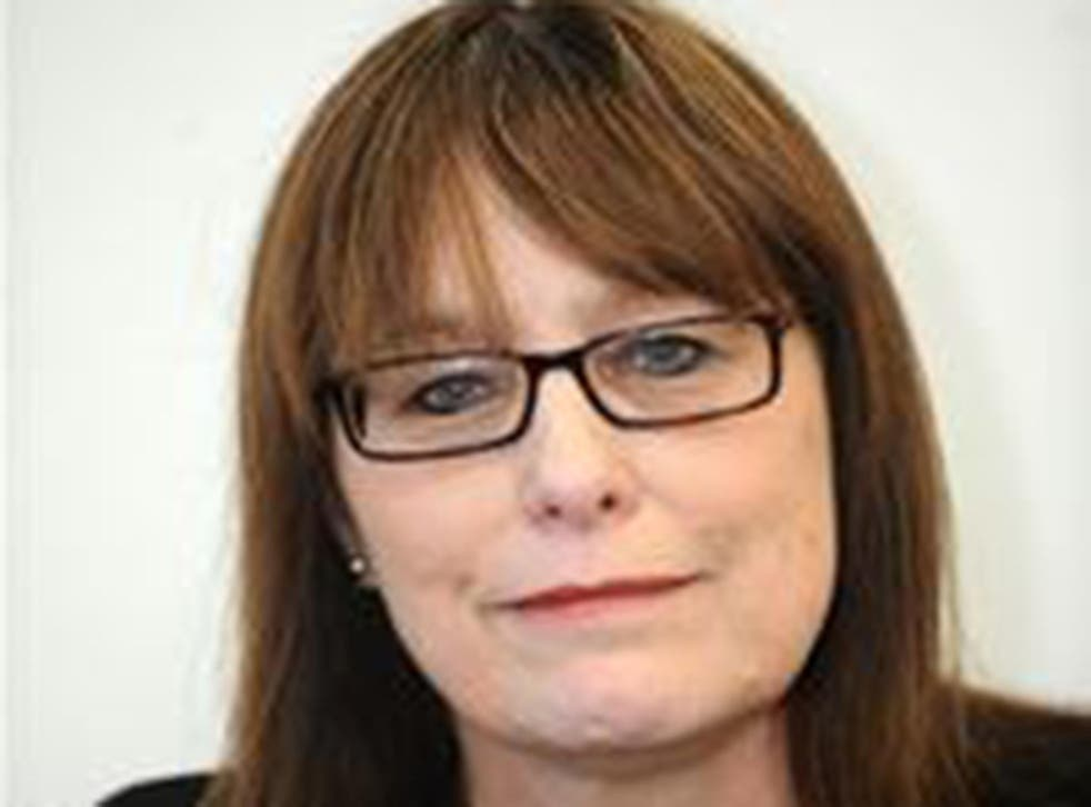 Councillor Christine Elmer, who is defecting from the Tories to the Lib Dems