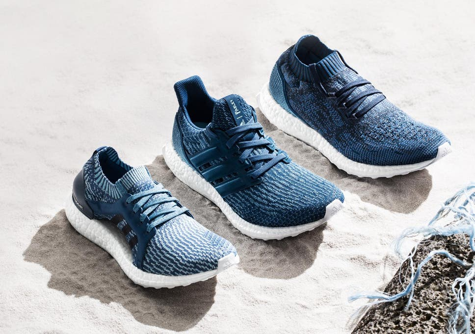 reputable site a0ef4 dd9f0 Adidas launches three new trainers made from recycled ocean plastic