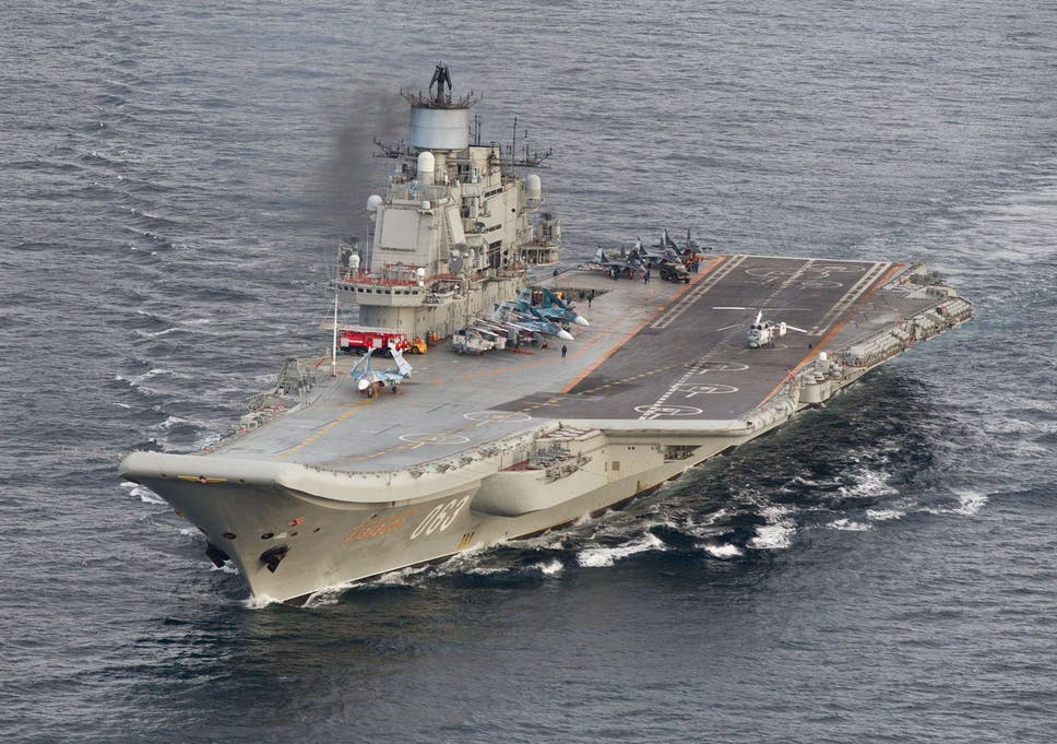 Russia building 'world's biggest aircraft carrier' to