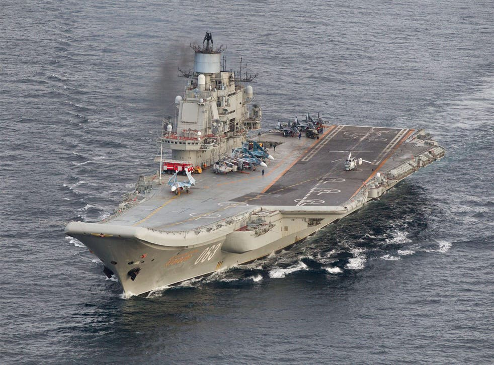 Russia's current aircraft carrier Admiral Kuznetsov can only transport 30 aircrafts, compared to up to 90 on the Shtorm craft