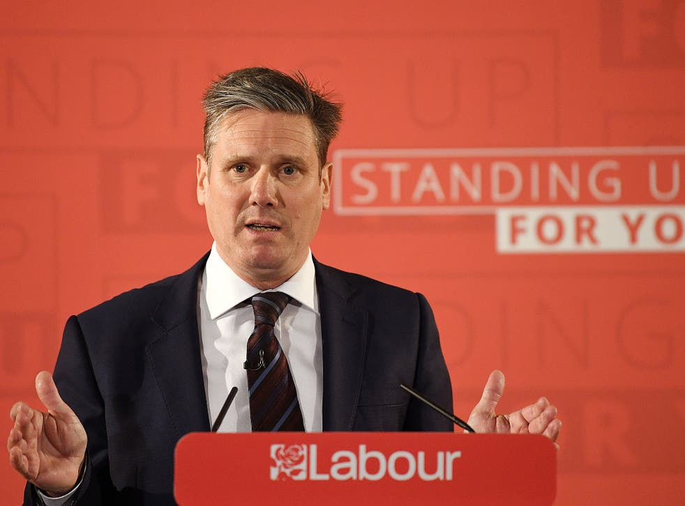 Sir Keir Starmer has also criticised the rationale for leaving the customs union