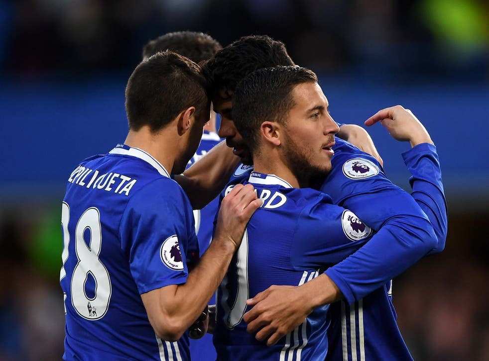 Chelsea were comfortable in victory, despite letting in two sloppy goals