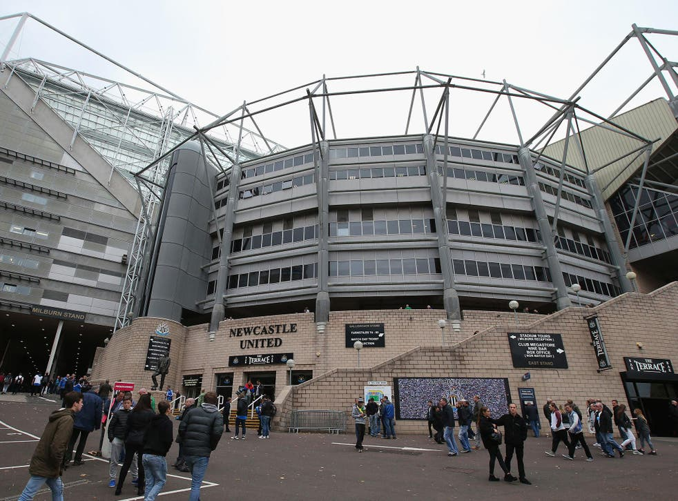 Newcastle's club offices were raided by Her Majesty's Revenue and Customs