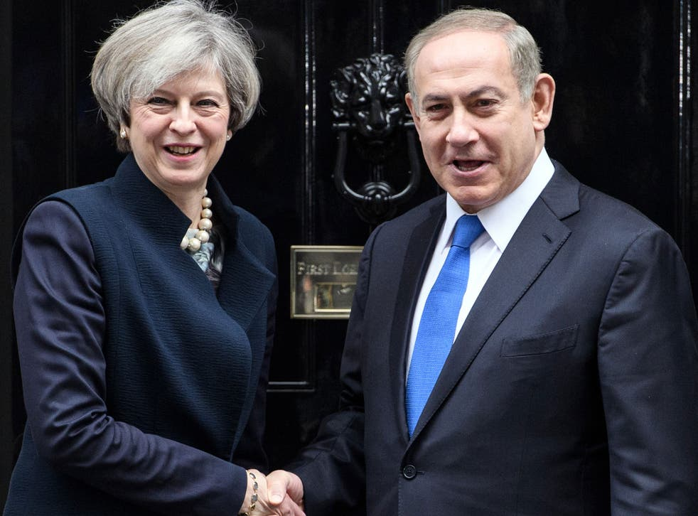 Theresa May has invited Benjamin Netanyahu to attend events commemorating the Balfour Declaration in November