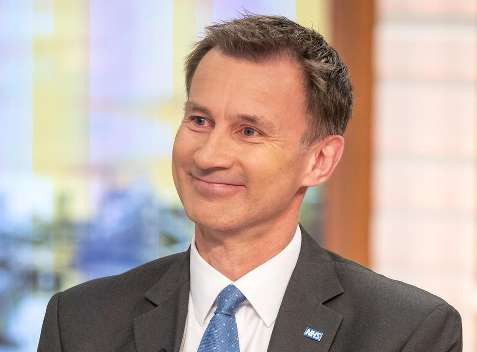 Hunt's performance was straight out of central Tory casting