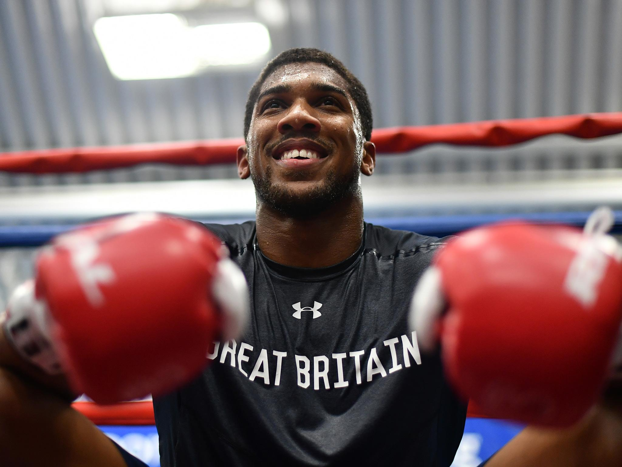 Anthony Joshua vs Wladimir Klitschko: Quotes and trash talk from the big  fight build-up | The Independent