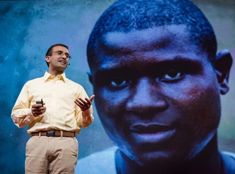2017 TED Prize winner Raj Panjabi at TED2017