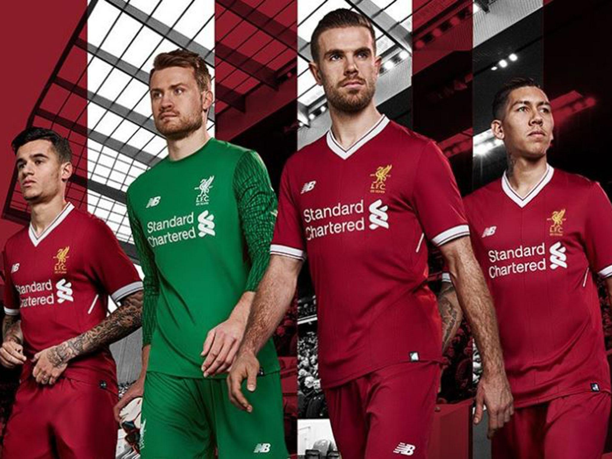 uk availability d3cfb 5f58c Liverpool launch half-price home kit alternative - but it ...