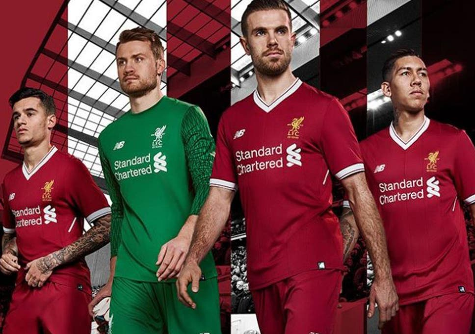 1a81f92b513 Liverpool release new home kit with special commemorative crest to ...