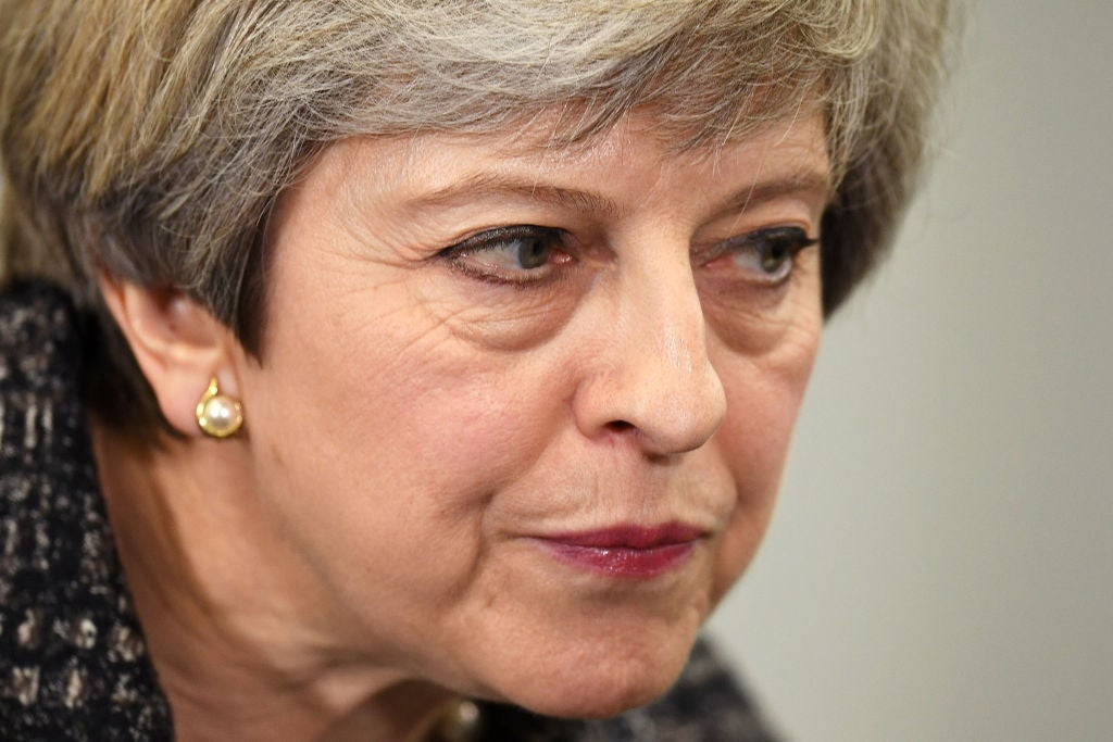 Theresa May refuses to answer Syria airstrikes question three times
