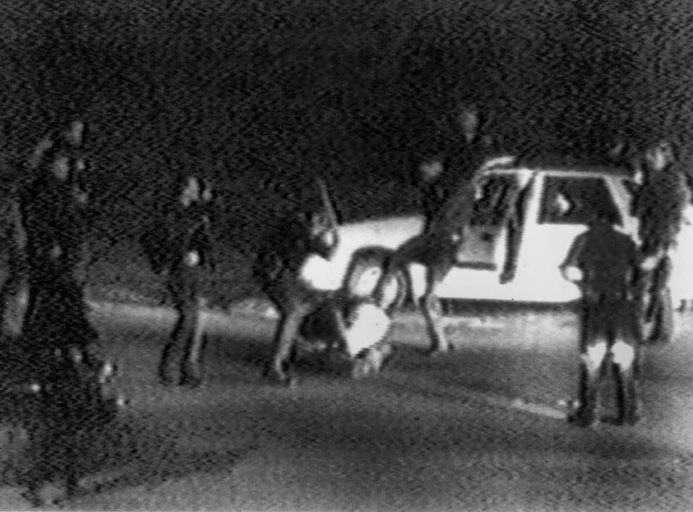 The Rodney King beating in 1991 highlighted systematic oppression of black people by the white establishment. Forman argues that black prosecutors and judges have also become complicit in a system that disproportionately punishes black people