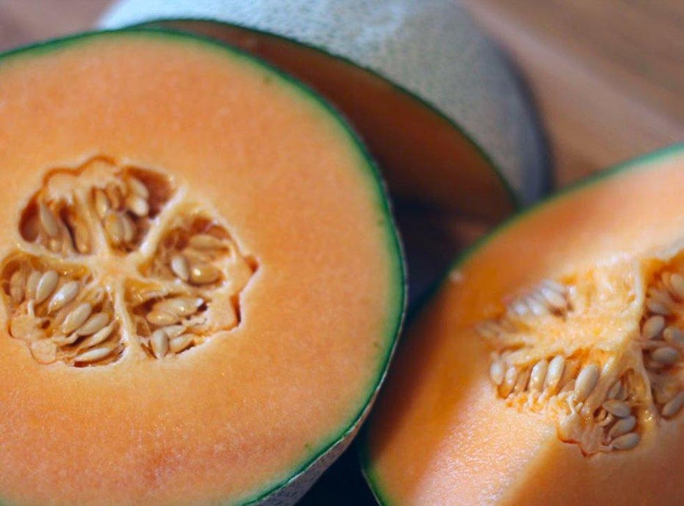Cantaloupe melon was identified as the source.