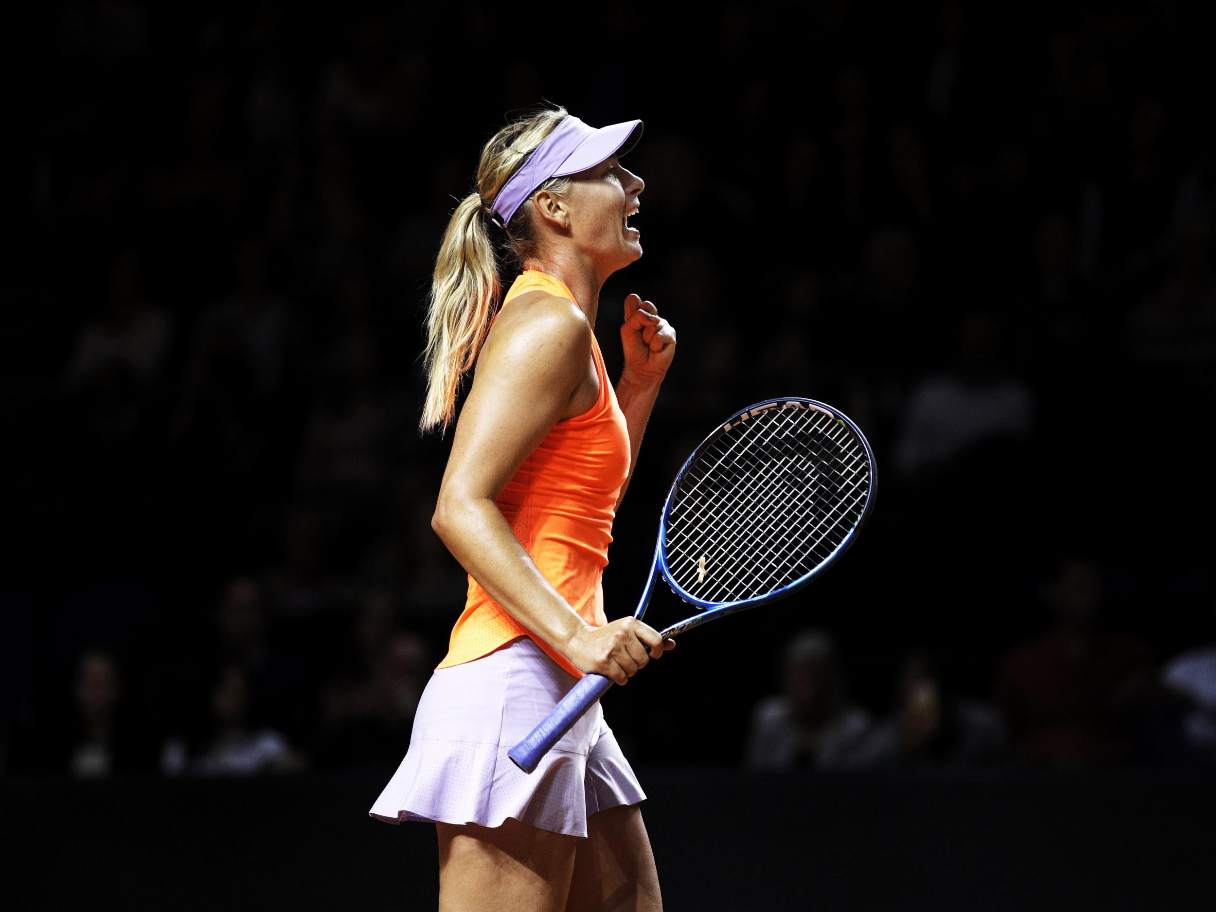 maria sharapova wta tennis - HD 1600×900