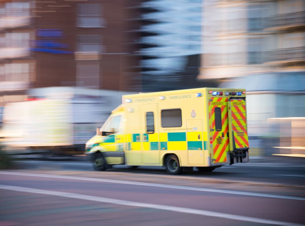 National requirements state that 75 per cent of life-threatening calls must be reached in eight minutes