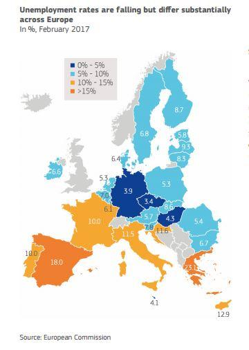 Eu Airbrushes Uk Off Maps In Report About Future Of Social Mobility