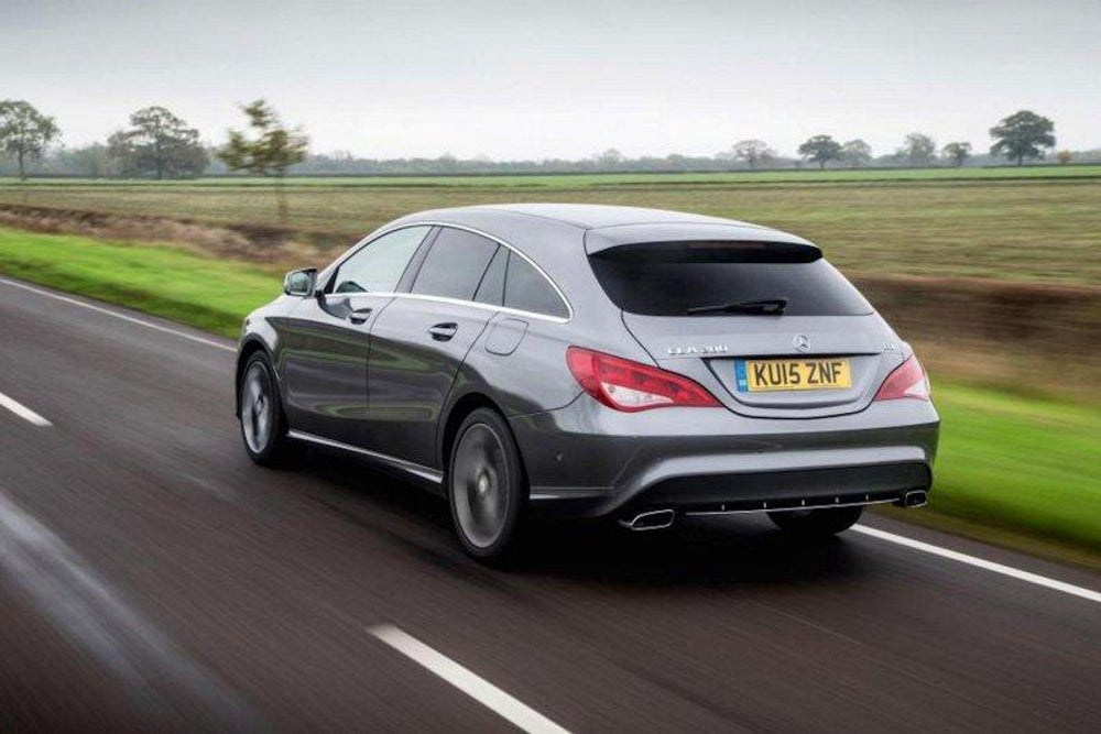 Mercedes Benz Cla Shooting Brake Driven The Independent