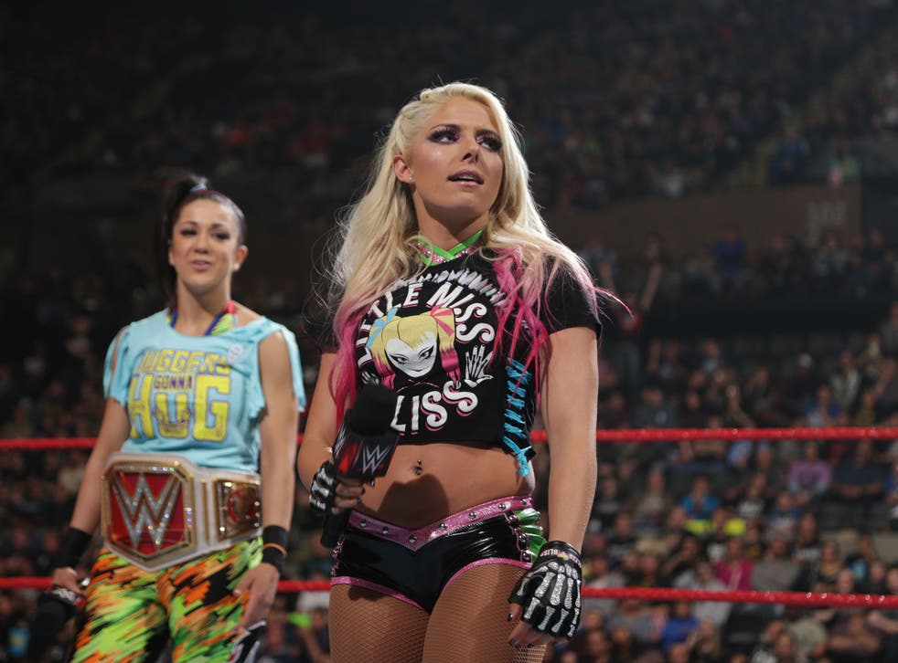 Alexa Bliss has the chance to end Bayley's title reign at Payback