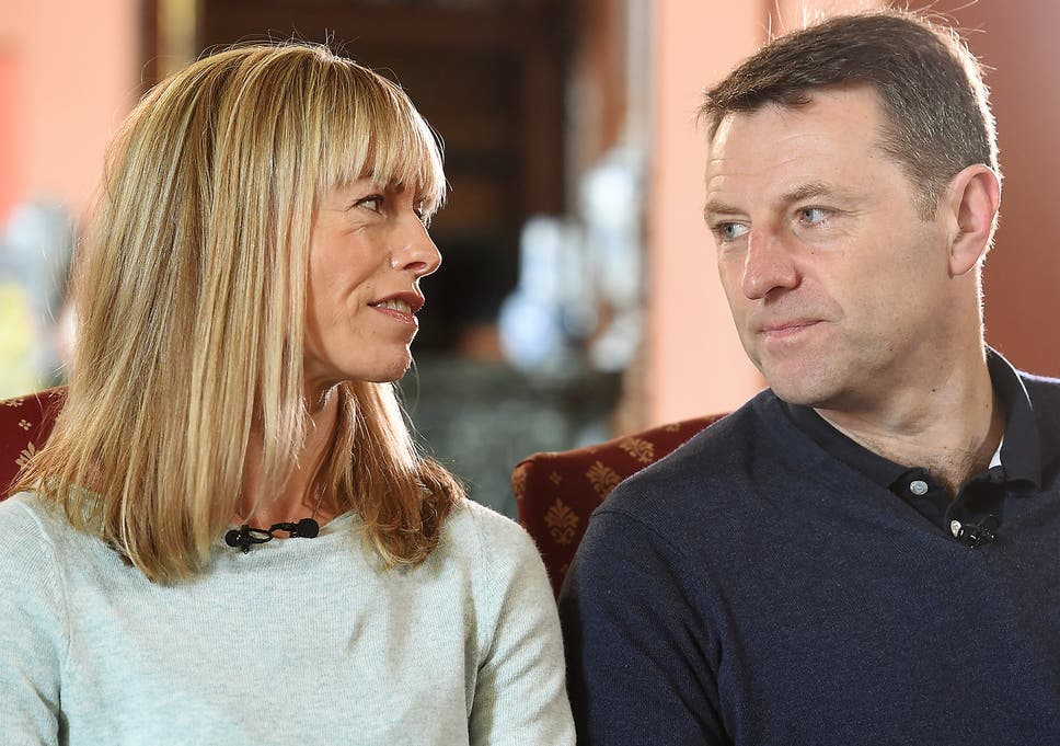 madeleine mccann s parents kate and gerry suffer online abuse on