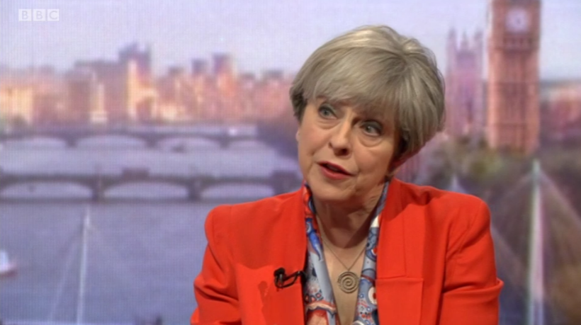 Theresa May was asked why nurses are having to use foodbanks under her government. Her answer says it all