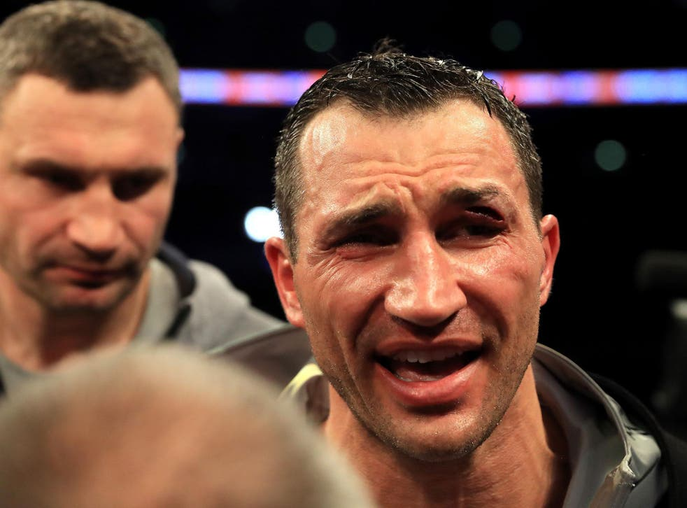 Wladimir Klitschko is considering his options after a second-successive defeat