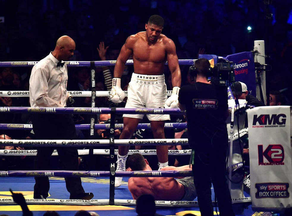 Anthony Joshua defeated Wladimir Klitschko in an absolute classic at Wembley Stadium