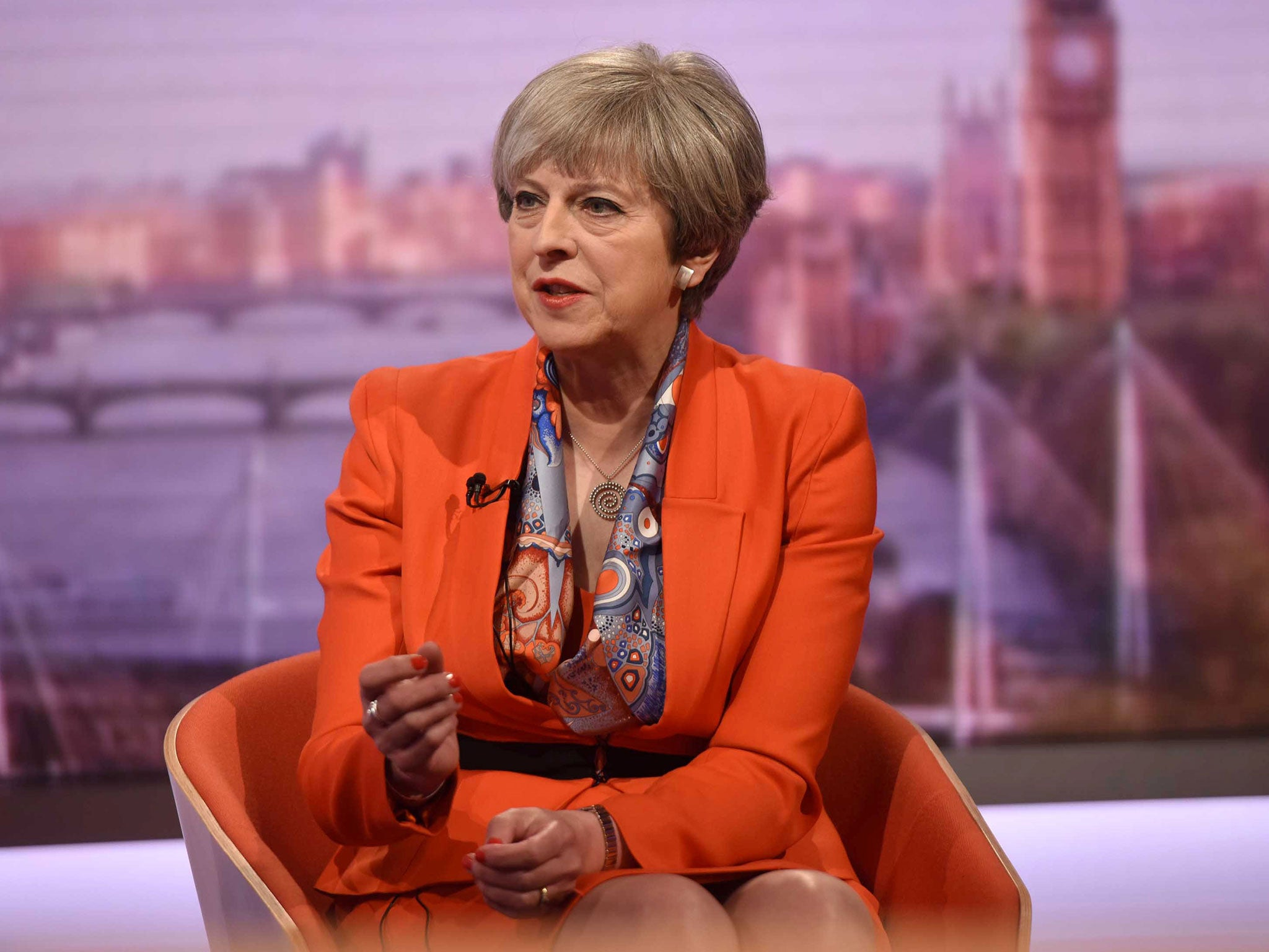 Theresa May vows not to raise VAT but won't rule out other income tax increases
