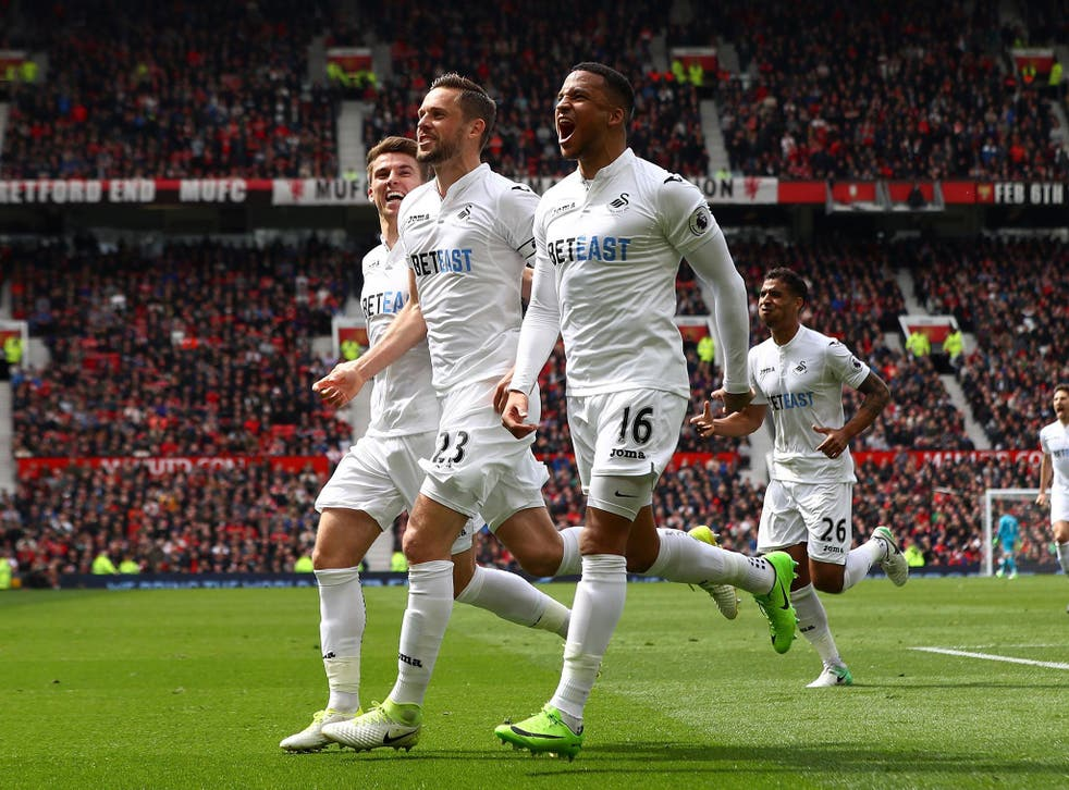 Man of the match Gylfi Sigurdsson equalised to give Swansea a share of the points
