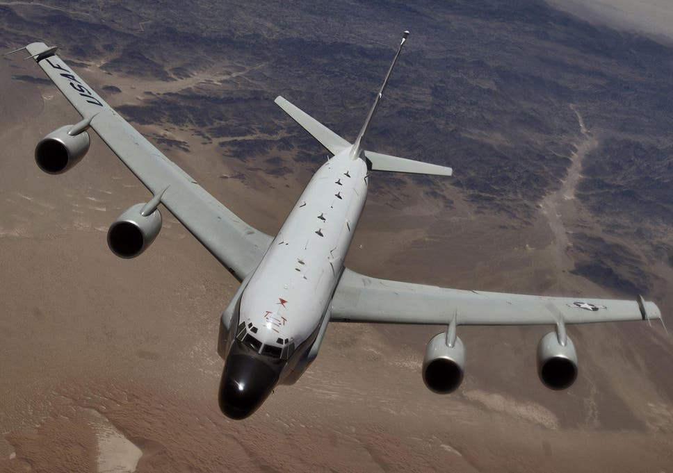 British spy plane off Russian border 'tracked on mobile app' | The