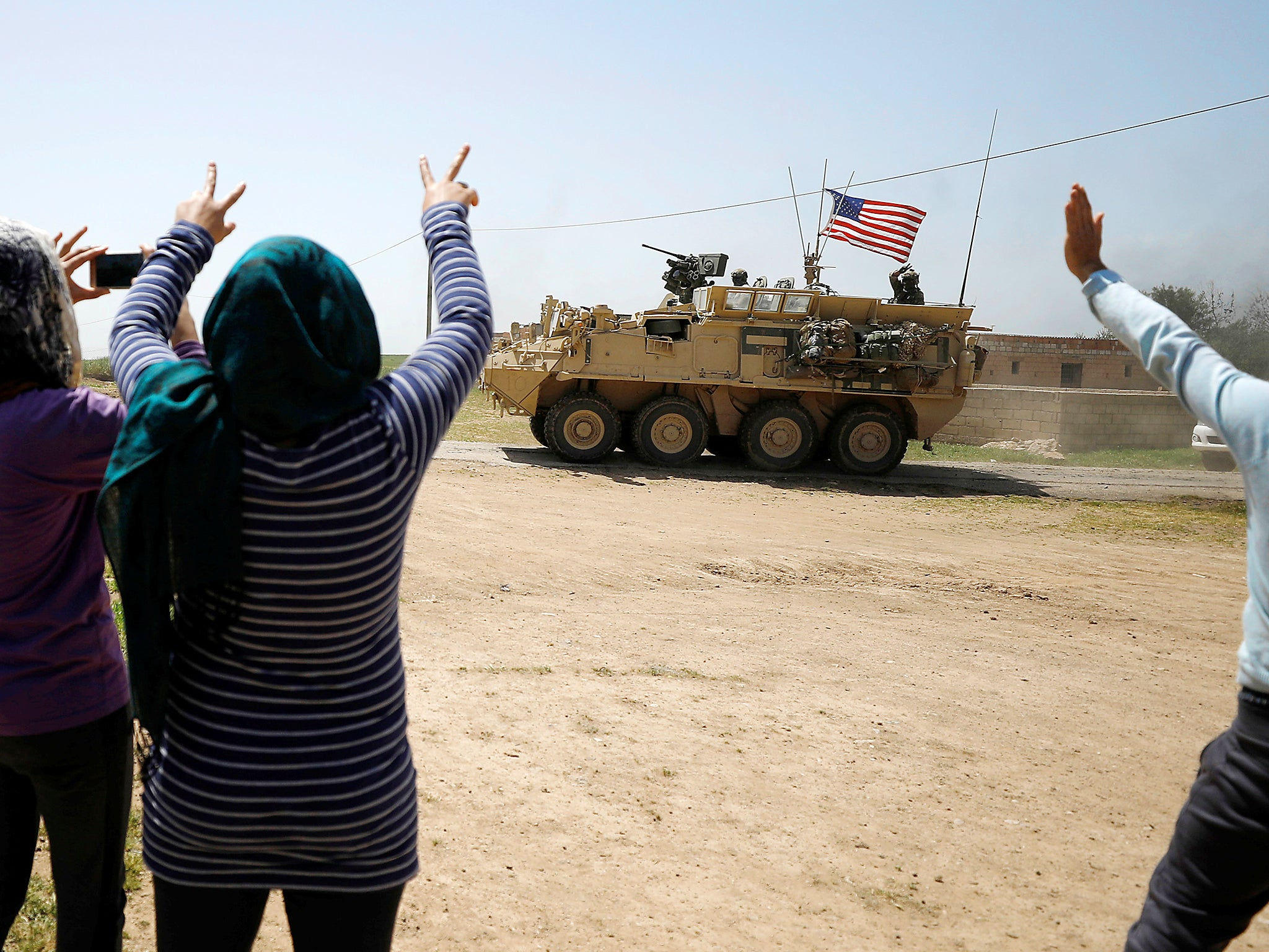 US officials try to prevent Turkish military operation against Kurdish allies in Syria