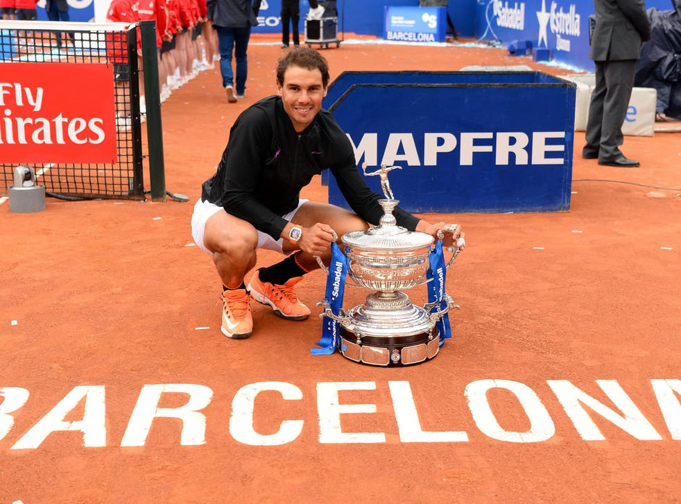Nadal has won the Barcelona Open a record ten times