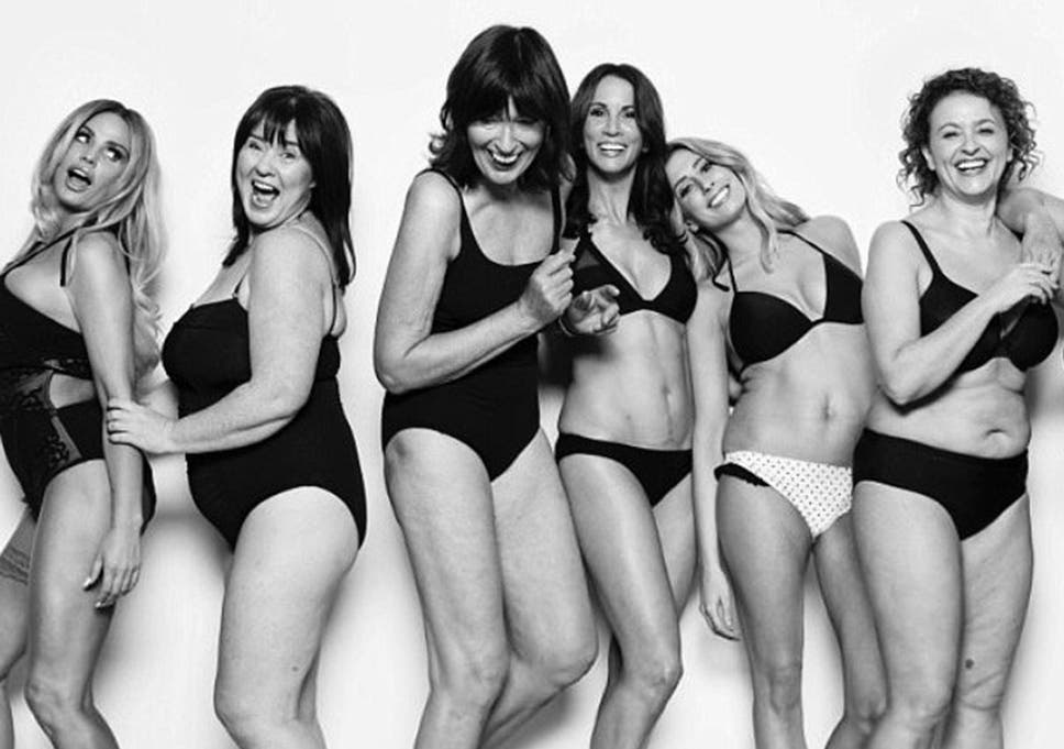 The stars of Loose Women posed for a photoshoot to promote body positivity