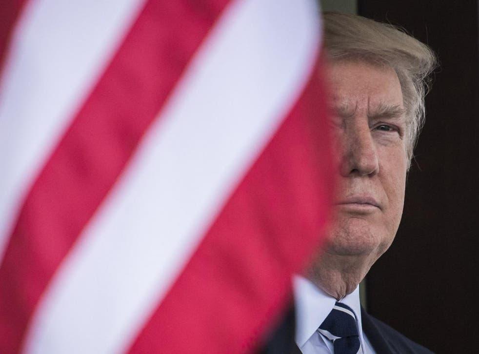 Trump has said he is looking at breaking up America's universal banks