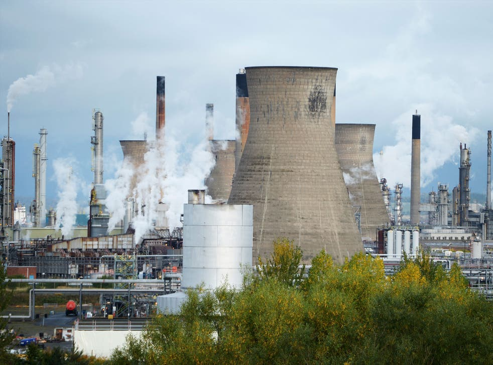 Grangemouth handles about 40 per cent of the oil produced in the UK