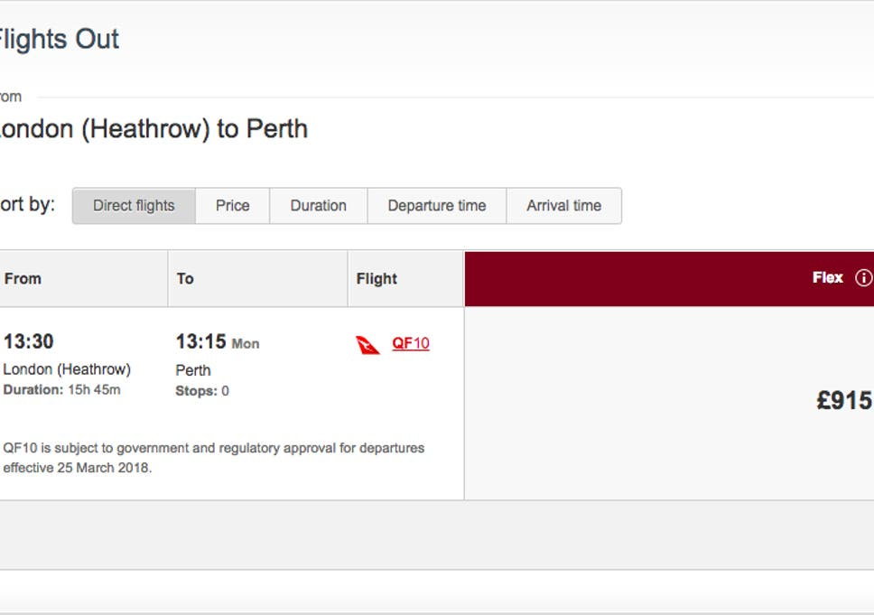 Qantas London to Perth: The UK's longest flight just got