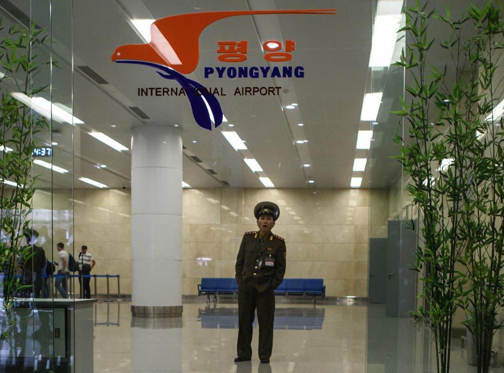 Kim Sang-duk was arrested at Pyongyang International Airport