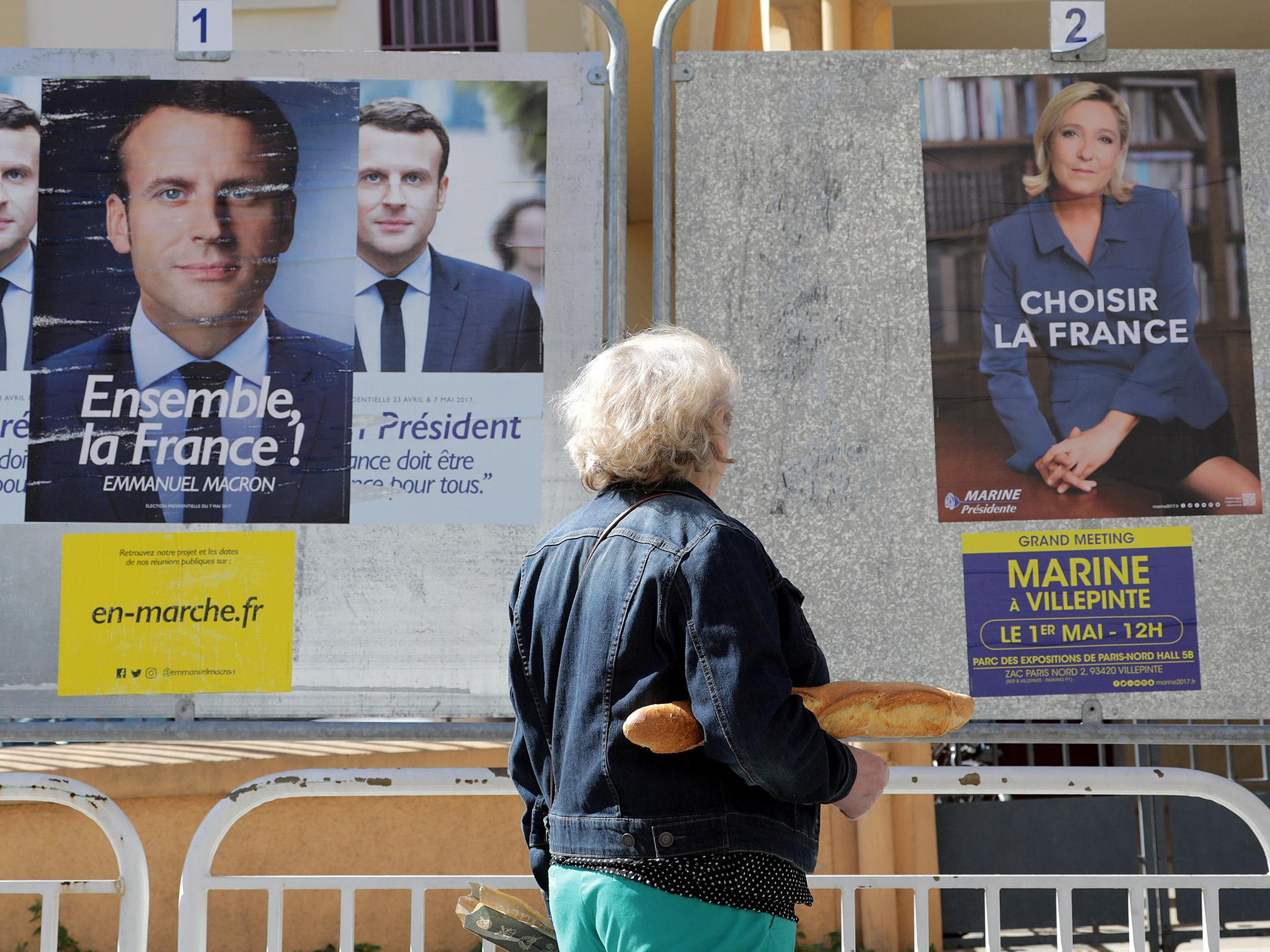 Don T Believe The Liberals There Is No Real Choice Between Le Pen And Macron The Independent The Independent
