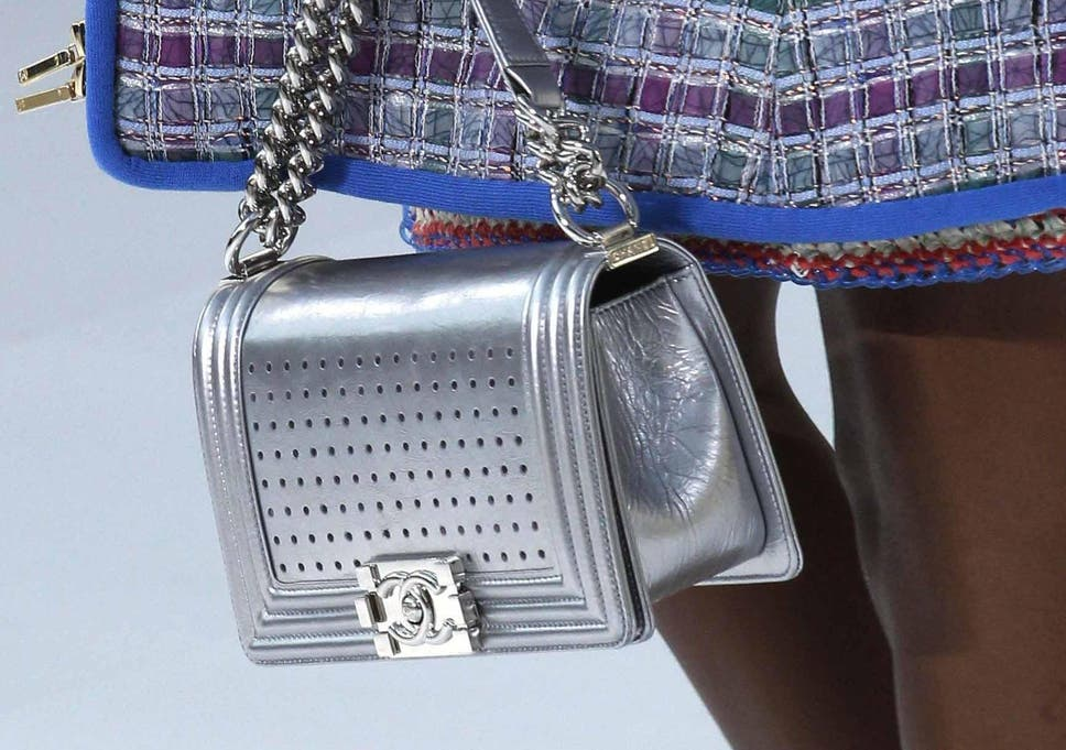 790f6296bcef Metalhead  How to wear this season s shiniest bag trend