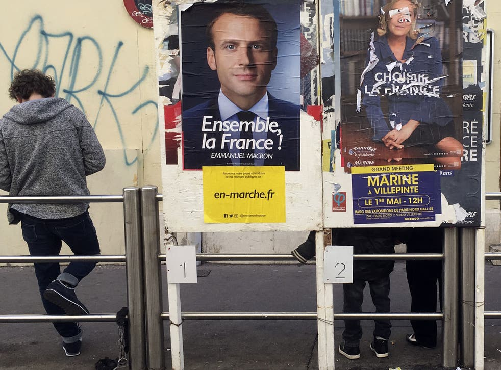 Macron still holds a commanding lead in the polls - but there are growing indications the election could be much closer most think