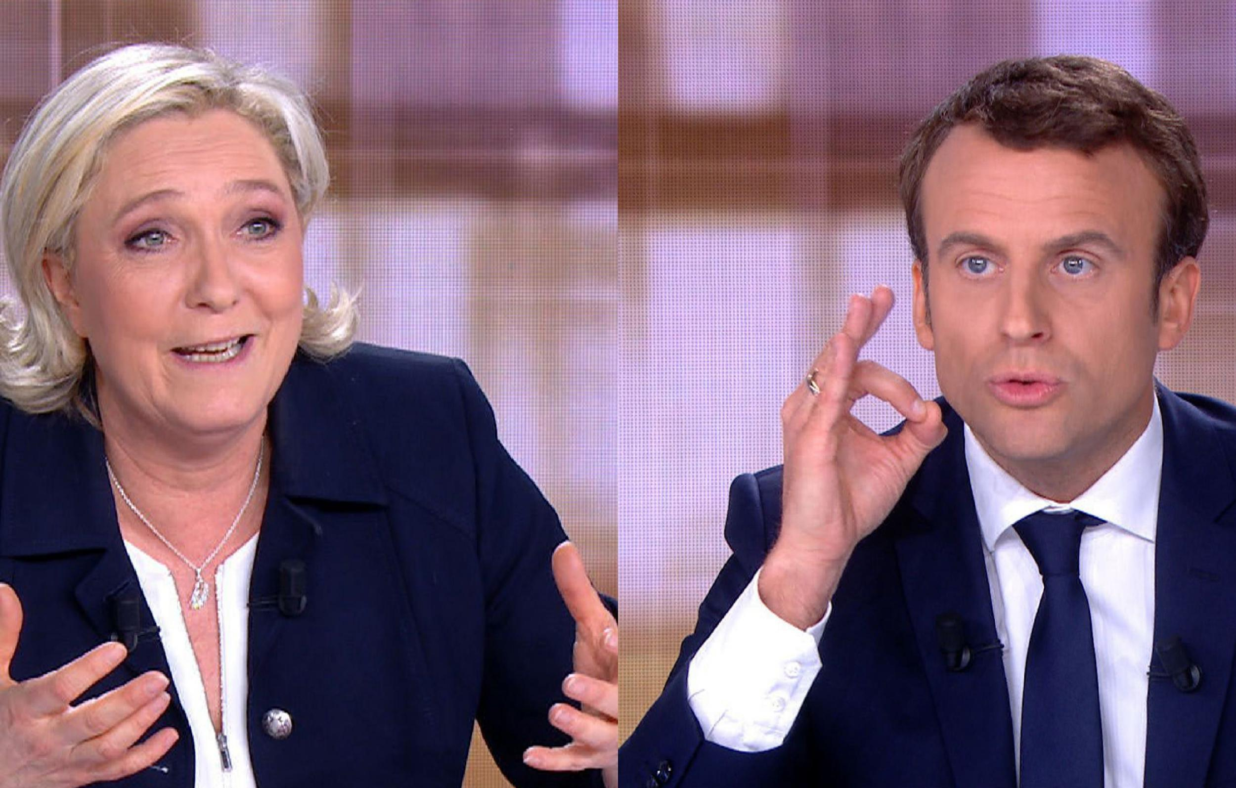 France elections 2017 live - French Election Debate Le Pen Called The High Priestess Of Fear As Macron Wins Acrimonious Final Clash The Independent