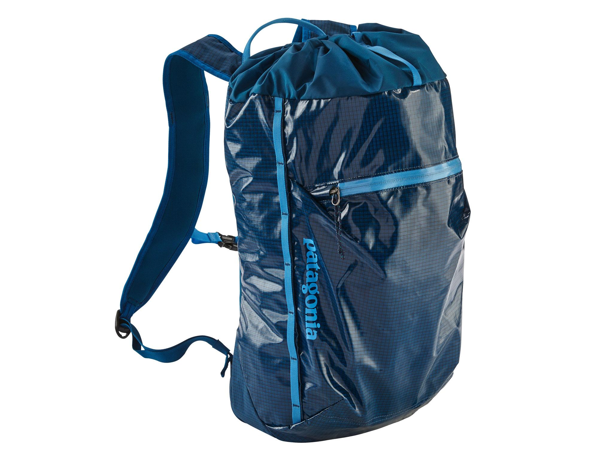 Patagonia Lightweight Black Hole Cinch Pack 20 litre  £65, Asos e72ed32498