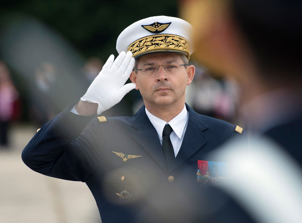 General Denis Mercier warned that if the White House does 'not recognise a problem, then we will have trouble dealing with the causes'