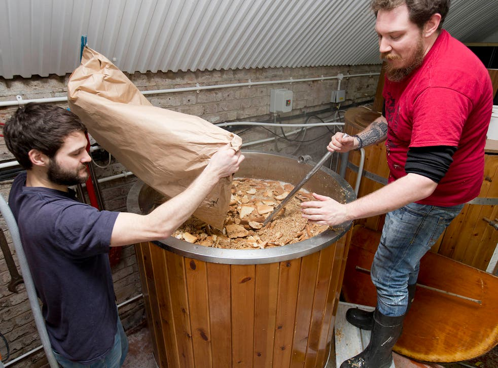 Toast Ale makes use of some of the 46 million slices of bread thrown away each year to brew craft beer