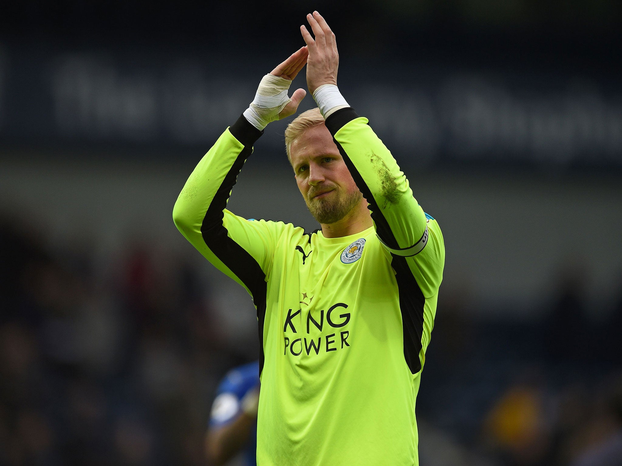 Kasper Schmeichel wants Champions League football with Leicester