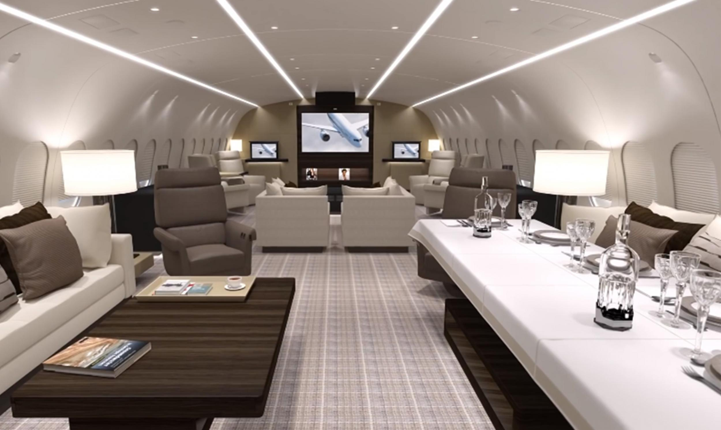 The 39VVIP39 Private Jet That Costs 20000 An Hour To Hire  The Indep