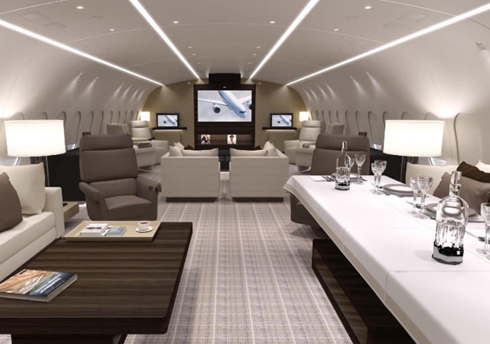 Private Jets For Rent >> The Vvip Private Jet That Costs 20 000 An Hour To Hire The