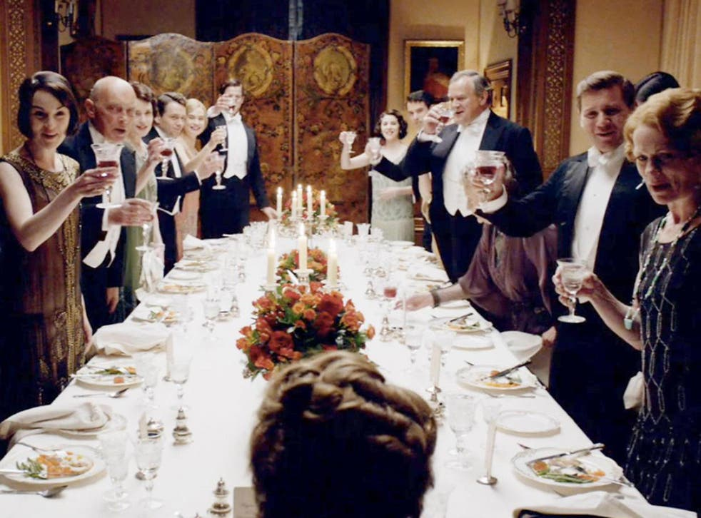 Upper crust toast: 'Downton Abbey' showed how the ritual of dining together establishes relationships and marks out a class
